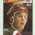 1988-89 Topps Hockey Card #122 Brendan Shanahan RC EX