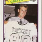 1988-89 Topps Hockey Card #120 Wayne Gretzky NM