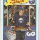 1988-89 Topps Hockey Card #194 Pierre Turgeon RC NM