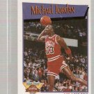 1991-92 Hoops Slam Dunk Basketball #4 Michael Jordan