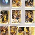 1991-92 Upper Deck McDonald's Open Paris Basketball Set