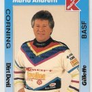 1991 K-Mart Mario & Michael Andretti Racing Cards