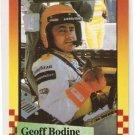 1989 Maxx Previews Racing Card #1 Geoff Bodine