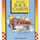 1989 Maxx Previews Racing Card #10 Cover Card B