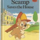 Walt Disney Productions Presents Scamp Saves the House Disney's Wonderful World of Reading Hardcover