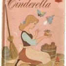Walt Disney's Cinderella Disney's Wonderful World of Reading 1974 Hardcover Fifth Printing