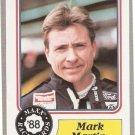 1988 Maxx Racing Card #48 Mark Martin Rookie