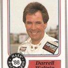 1988 Maxx Racing Card #10 Darrell Waltrip Rookie