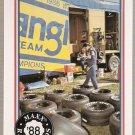 1988 Maxx Racing Card #45 Tire Wars/Earnhardt's Trailer