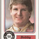 1988 Maxx Racing Card #52 Bobby Hillin, Jr. RC