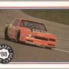 1988 Maxx Racing Card #75 Darrell Waltrip's Car