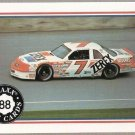 1988 Maxx Racing Card #41 Alan Kulwicki's Car