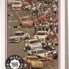 1988 Maxx Racing Card #15 Pit Row Action NM