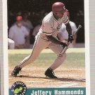 1992 Classic Draft Picks Promos Baseball Card #1 Jeffrey Hammonds