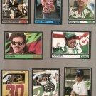 1991 Traks Racing Lot of 46 Cards