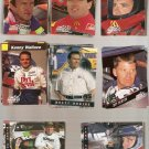 Lot of 228 Finish Line Racing Cards 1993-1995 w/ Silver