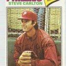 1977 Topps Baseball Card #110 Steve Carlton EX