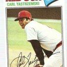 1977 Topps Baseball Card #480 Carl Yastrzemski VG