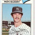 1977 Topps Baseball Card #656 Ron Guidry EX-MT