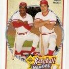 1992 Upper Deck Bench/Morgan Heroes #43 Johnny Bench Joe Morgan NM