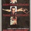 Goldfinger James Bond 007 Sean Connery VHS