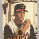 1994 Studio Heritage Baseball Card #8 Mike Mussina