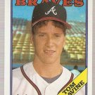 1988 Topps Baseball Card #779 Tom Glavine RC NM