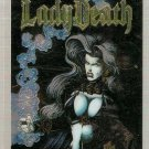 Lady Death Between Heaven & Hell Promo Card Krome