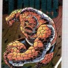 Marvel Universe 1994 Power Blast Card #9 The Thing