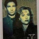 X-Files Season 1 Topps Finest Chromium Card #X1