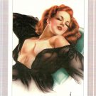 Varga Girls Pin-Ups III Prototype Jan. 1941 Promo Card