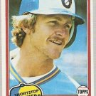 1981 Topps Baseball Card #515 Robin Yount EX-MT