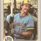 1983 Fleer Baseball Card #51 Robin Yount NM