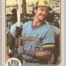 1983 Fleer Baseball Card #51 Robin Yount NM