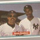 1982 Donruss Baseball Card #575 Bronx Bombers Reggie Jackson Dave Winfield EX