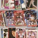 Lot of 90 Will Clark Baseball Cards Giants Rangers