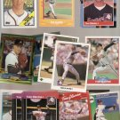 Lot of 50 Tom Glavine Baseball Cards Atlanta Braves