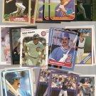 Lot of 25 Rafael Palmeiro Baseball Cards Cubs Rangers