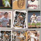 Lot of 21 Tim Salmon Baseball Cards California Angels