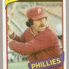 1980 Topps Baseball Card #270 Mike Schmidt Phillies EX C