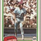 1981 Topps Baseball Card #540 Mike Schmidt Phillies NM B