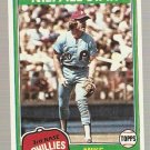 1981 Topps Baseball Card #540 Mike Schmidt Phillies NM C