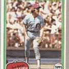 1981 Topps Baseball Card #540 Mike Schmidt Phillies EX D