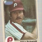 1983 Fleer Baseball Card #173 Mike Schmidt NM-MT