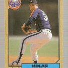 1987 Topps Baseball Card #757 Nolan Ryan NM