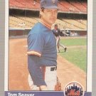 1984 Fleer Baseball Card #595 Tom Seaver NM or better A