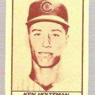 1971 Milk Duds Baseball Card #47 Ken Holtzman Chicagoi Cubs