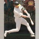 1997 Pacific Fireworks Die Cuts Card #10 Mark McGwire NM-MT