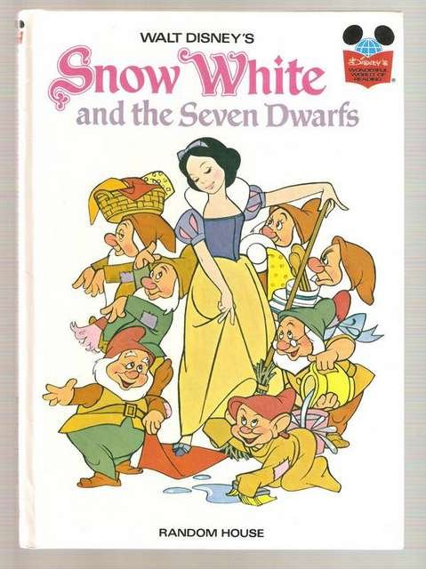 Snow White and the Seven Dwarfs Disney's Wonderful World of Reading Glossy Hardcover