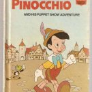 Pinocchio and His Puppet Show Adventure Disney's Wonderful World of Reading Hardcover